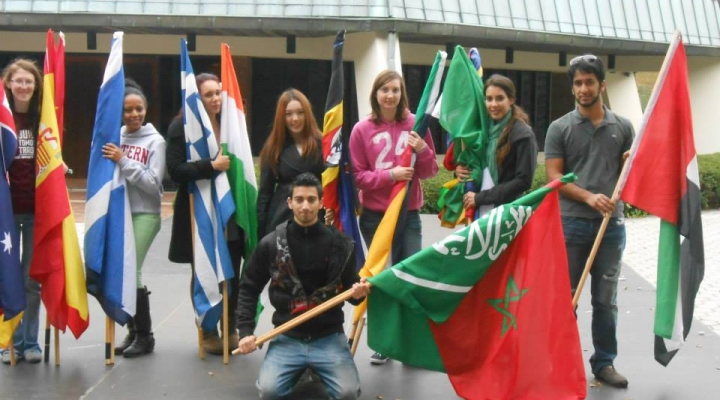 pic of international students